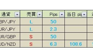 【月間+213pips】+108pips 真っすぐ王子のFXメルマガ配信 2019月2月26日(火)の成績